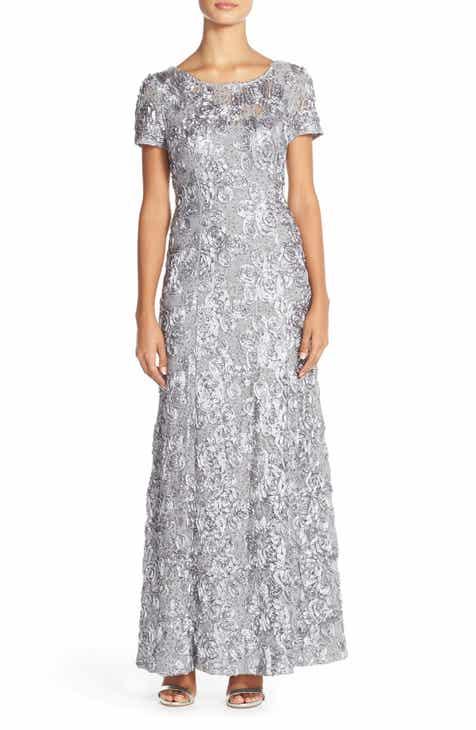 8b8b0e1f825 Alex Evenings Embellished Lace Gown (Regular   Petite)