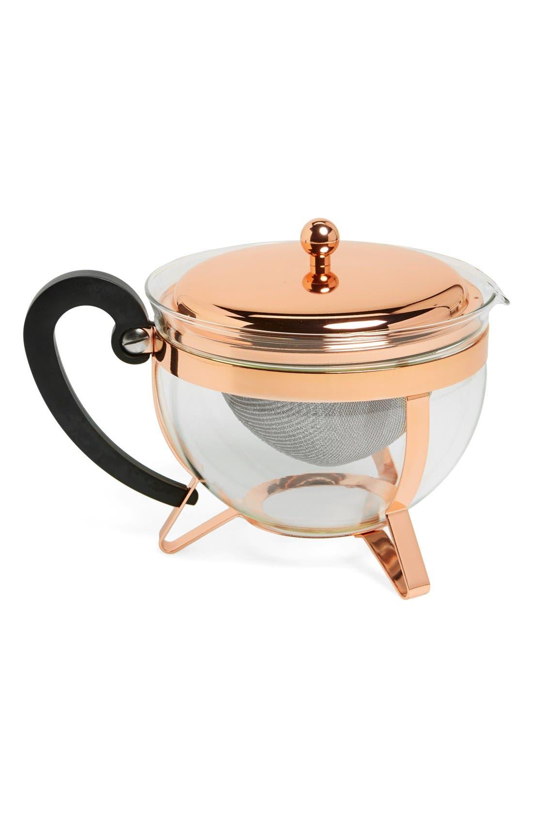 'Chambord Classic' Tea Pot,                         Main,                         color, Copper