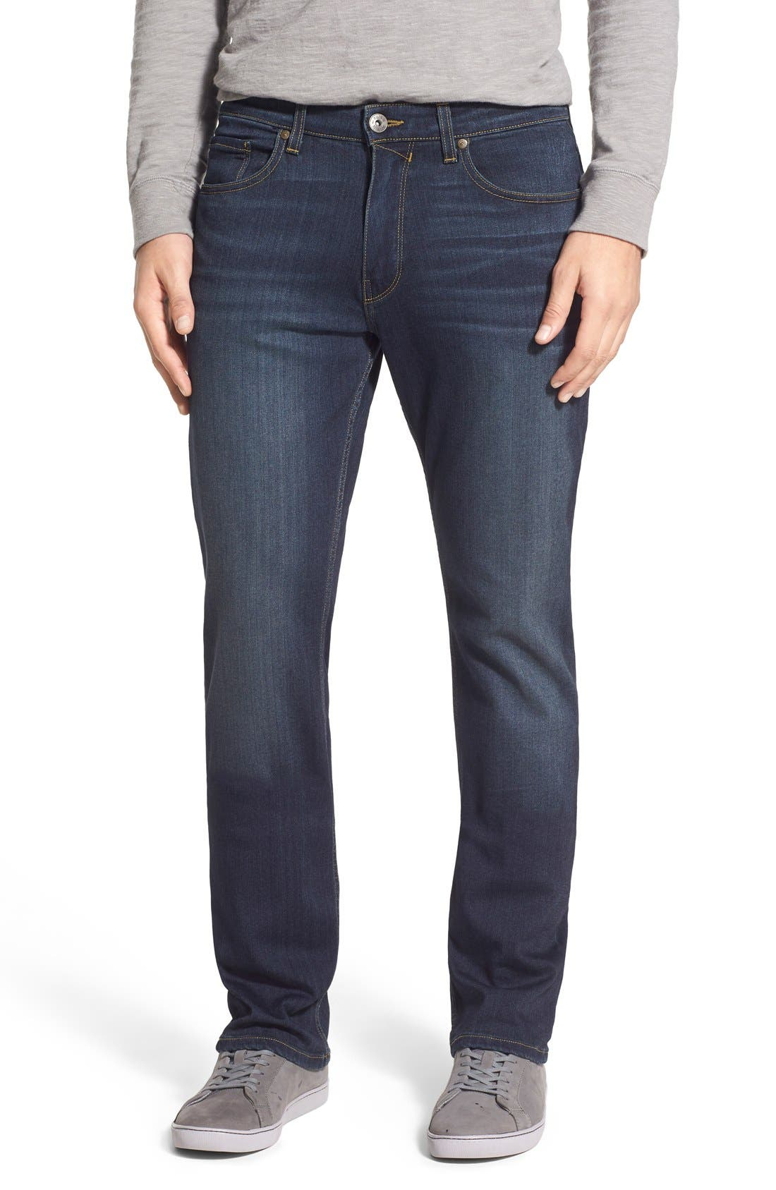 Main Image - PAIGE 'Normandie' Straight Leg Jeans (Rigby)