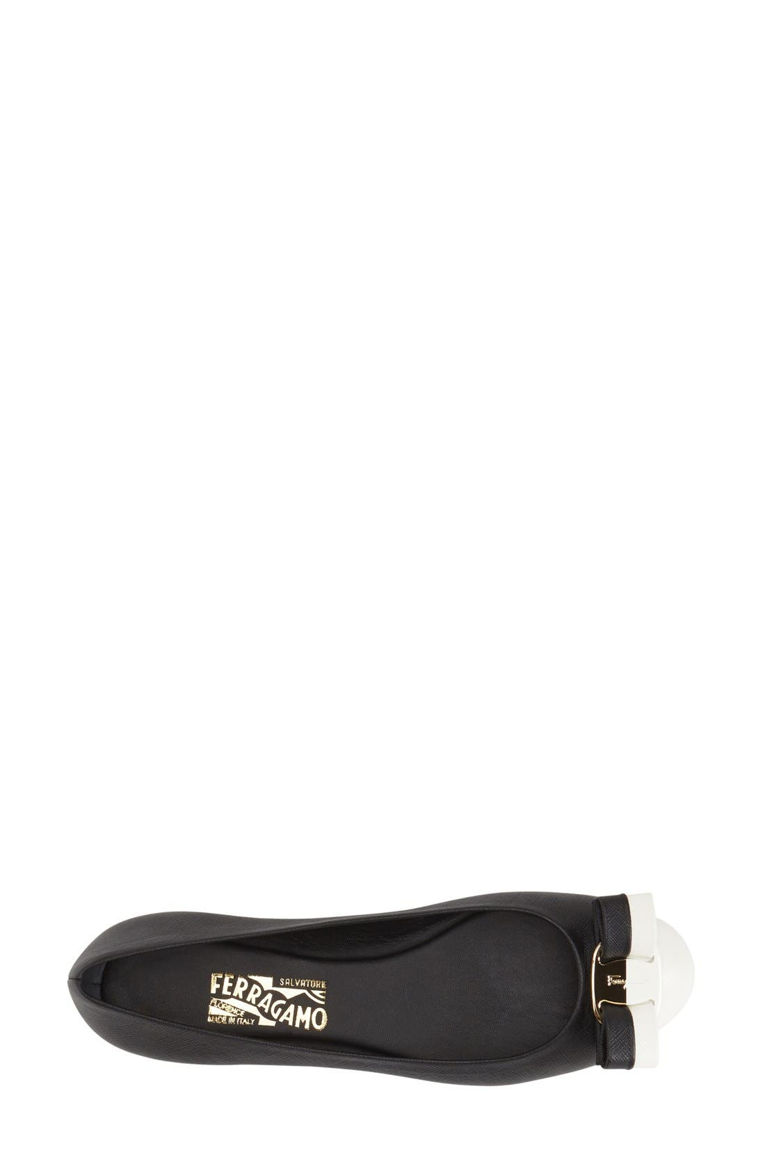 Alternate Image 3  - Salvatore Ferragamo 'Varina' Flat (Women)