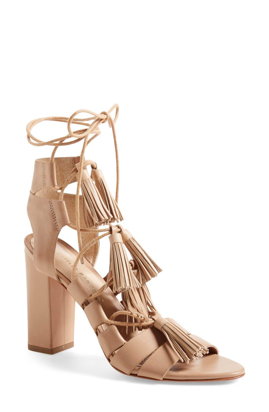 Loeffler Randall Luz Tassel Sandal (Women)