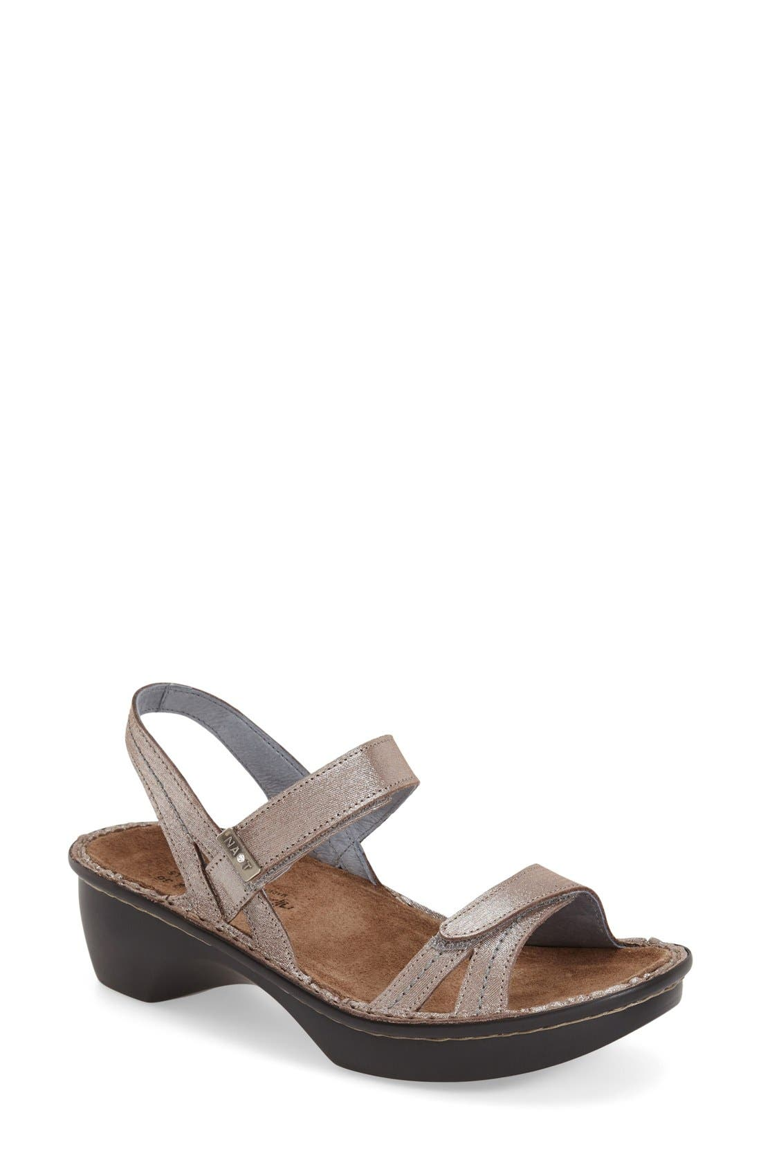 Alternate Image 1 Selected - Naot 'Brussels' Sandal (Women)