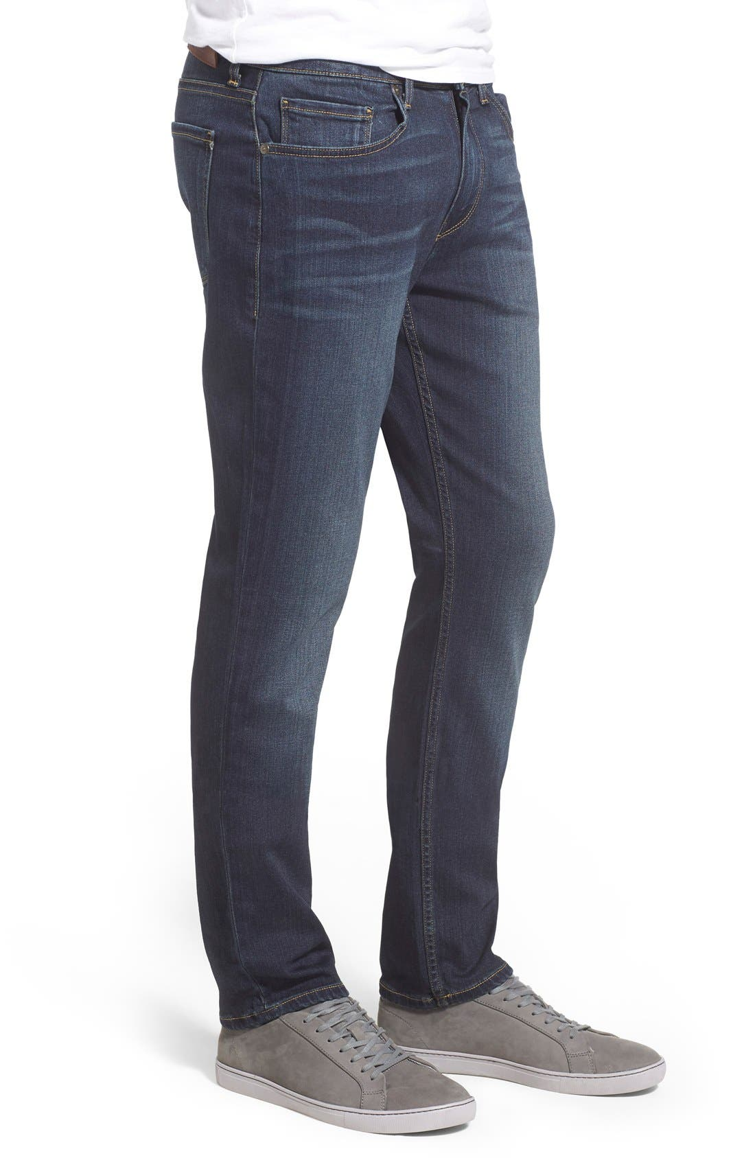 Lennox Slim Fit Jeans,                             Alternate thumbnail 3, color,                             Rigby