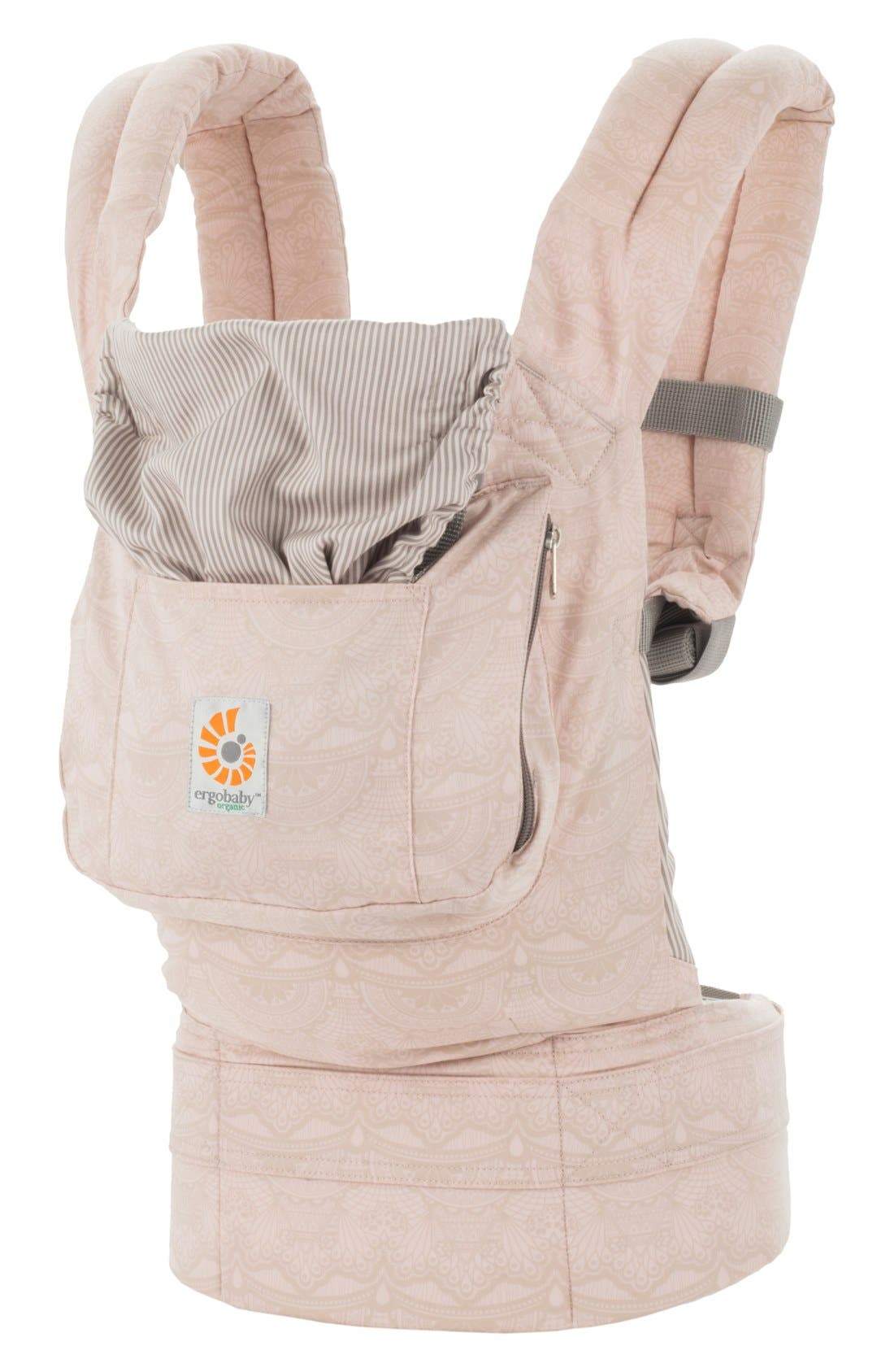 Alternate Image 4  - ERGObaby Organic Cotton Baby Carrier (Baby)