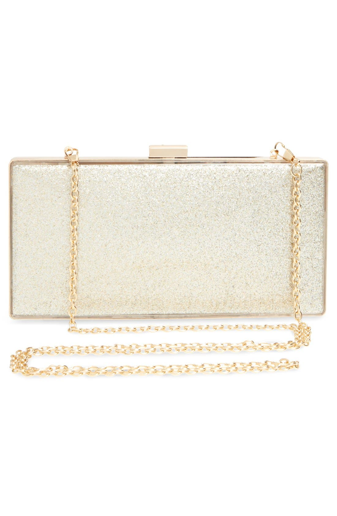 Alternate Image 3  - Tasha Glitter Colorblock Box Clutch