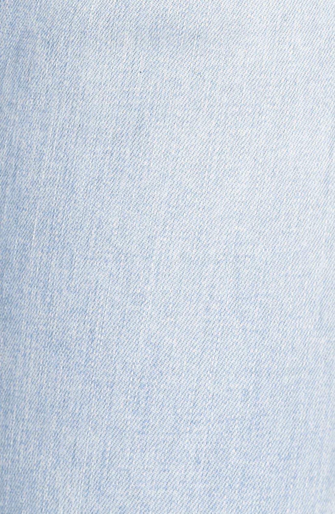 Alternate Image 5  - RES Denim 'Kitty' Skinny Jeans (Love Moves Destroyer)