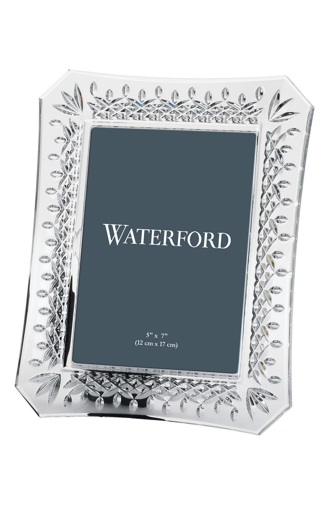 Waterford Lismore Lead Crystal Picture Frame