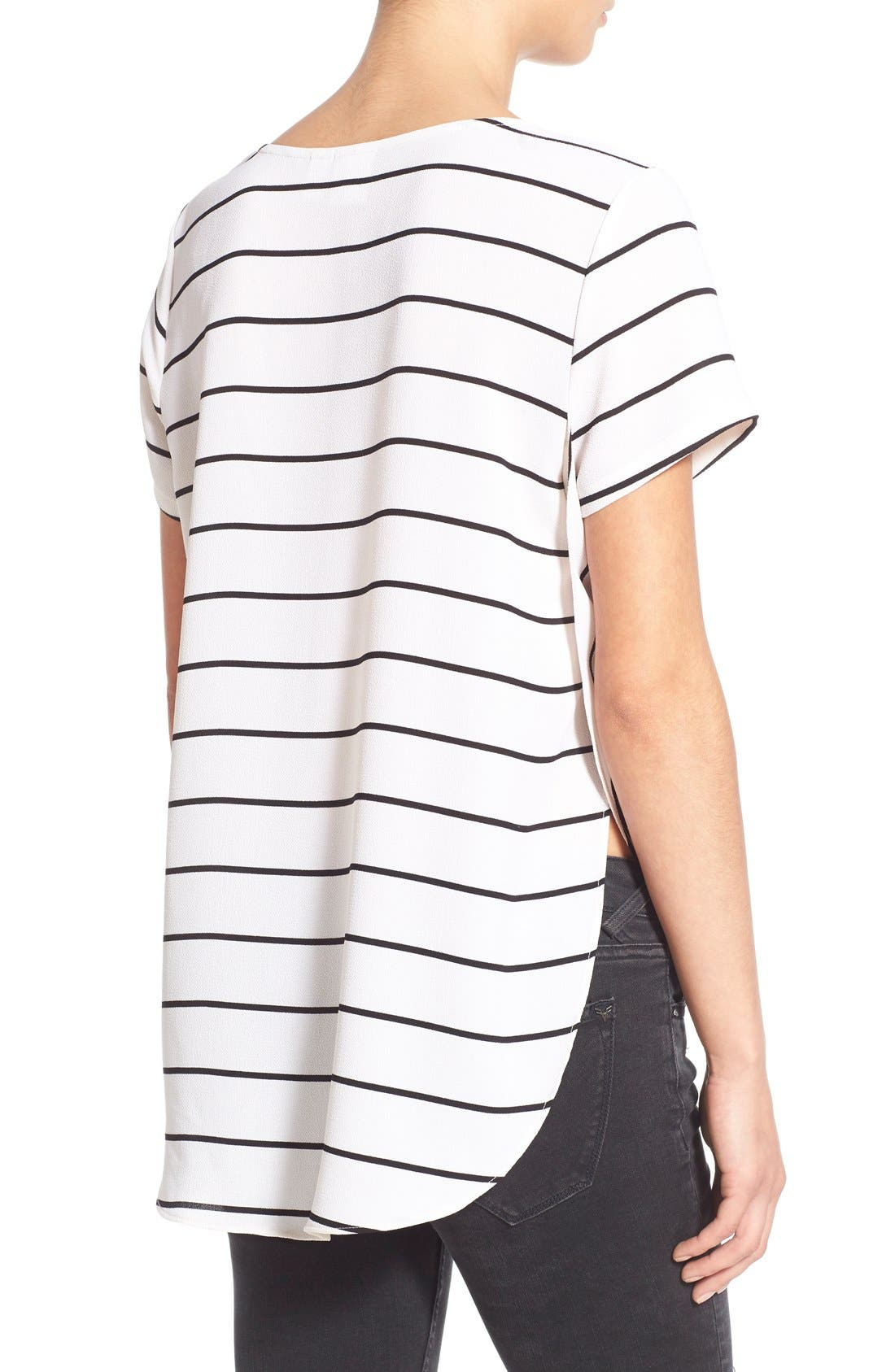 Alternate Image 2  - BP. Side Slit High/Low Tee