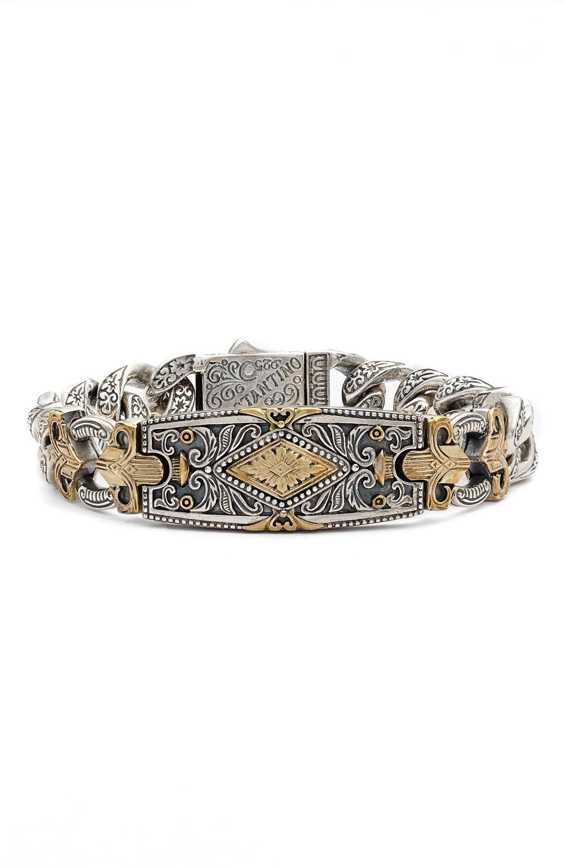 Alternate Image 1 Selected - Konstantino Myrmidones Fleur de Lis Bracelet