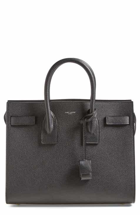 Saint Laurent 'Small Sac de Jour' Calfskin Leather Tote