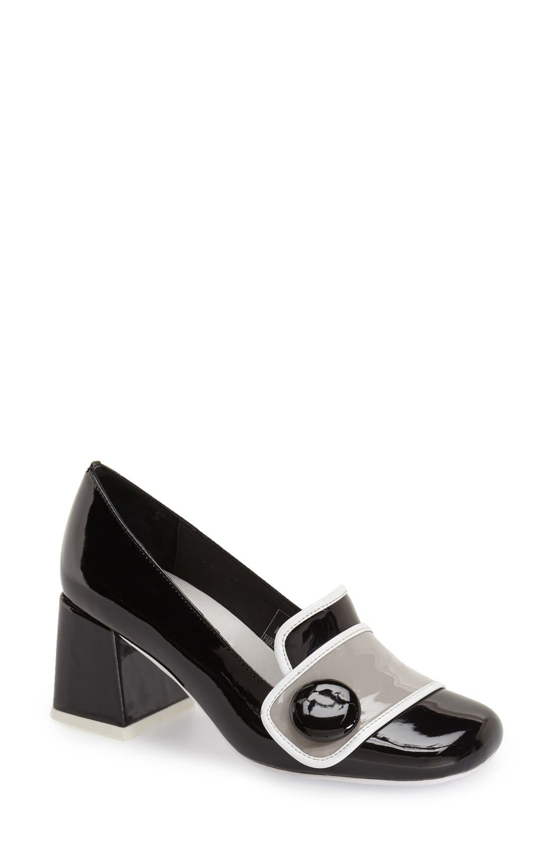 Alternate Image 1 Selected - Jeffrey Campbell 'Enid' Button Pump (Women)