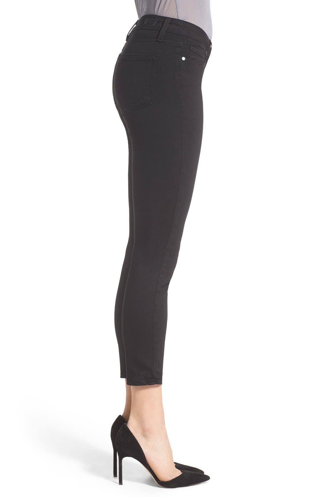 Alternate Image 3  - PAIGE Transcend - Verdugo Crop Skinny Jeans