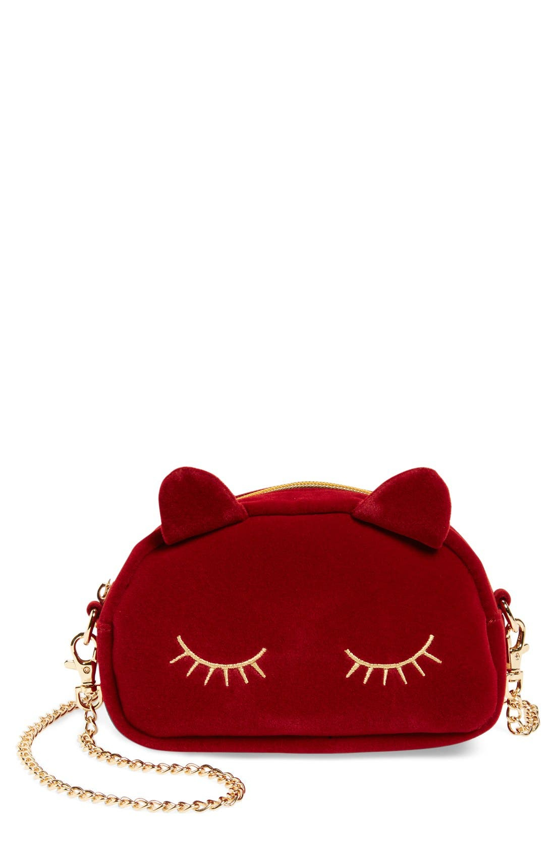Alternate Image 1 Selected - Nila Anthony 'Mini Cat' Convertible Crossbody Bag