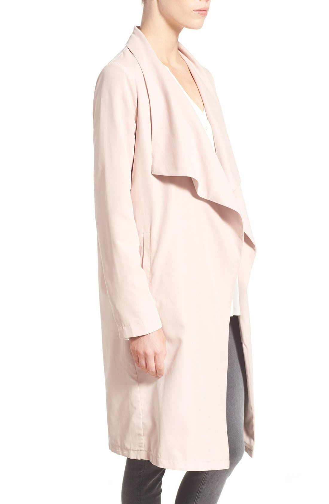 Alternate Image 3  - cupcakes and cashmere 'Laswell' Drape Coat
