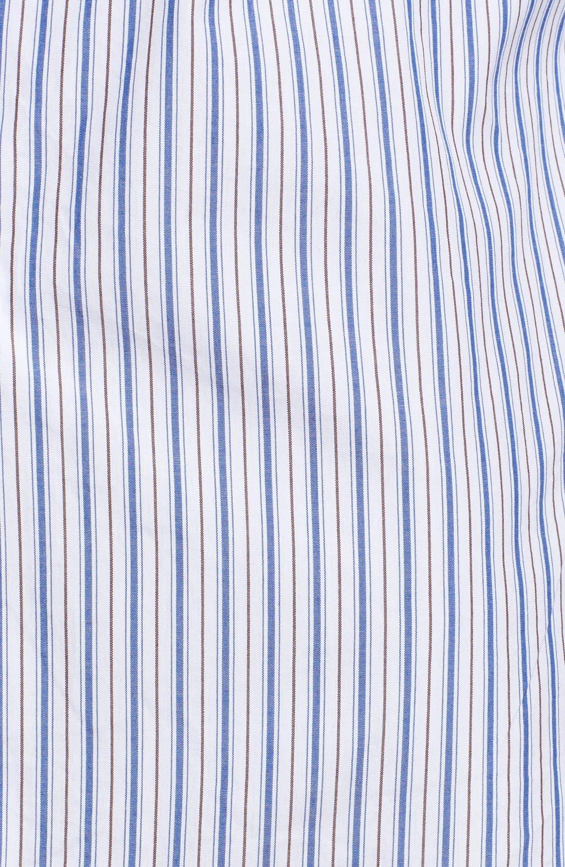 Comme des Garçons PLAY Stripe Shirt,                             Alternate thumbnail 5, color,                             Blue
