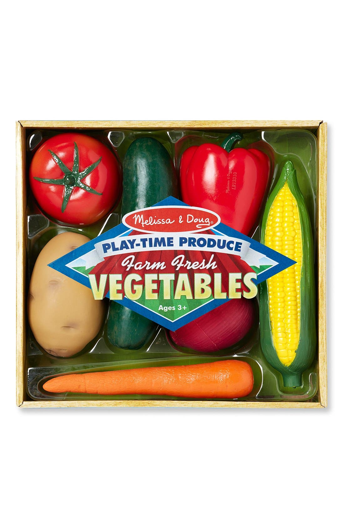 'Play-Time Produce Fruit and Vegetables' Play Food,                             Alternate thumbnail 3, color,                             Multi