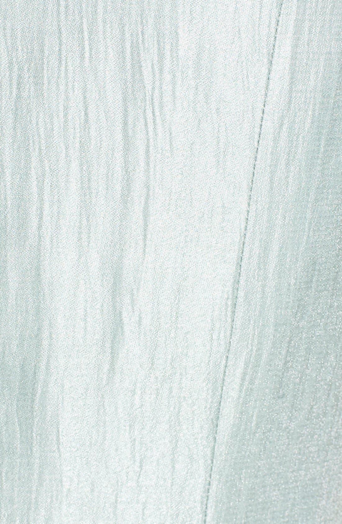 Alternate Image 6  - Adrianna PapellEmbroidered Lace Illusion Yoke Sheath Dress &Topper (Regular & Petite)