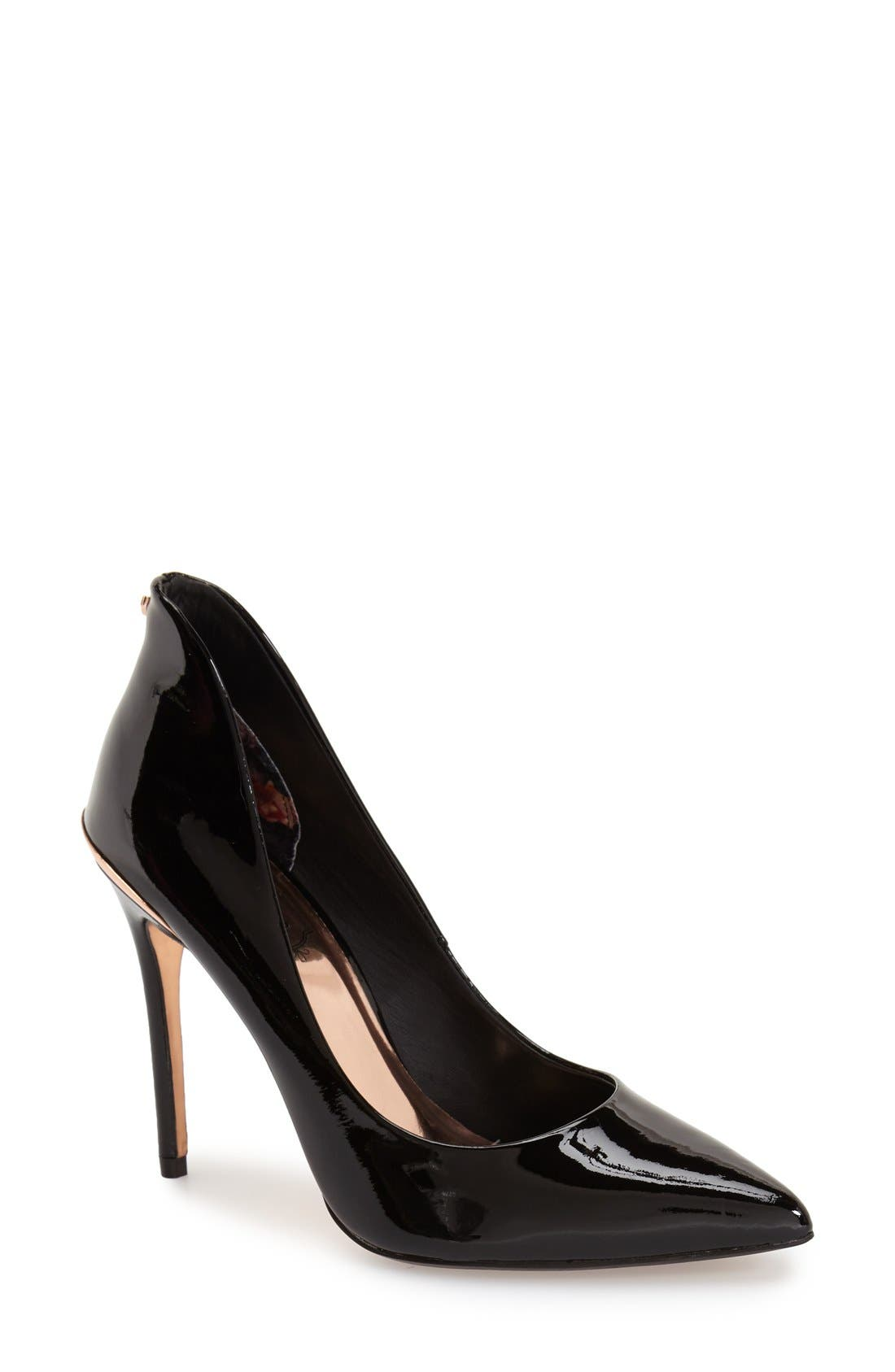 Alternate Image 1 Selected - Ted Baker London 'Savenniers' Pointy Toe Pump (Women)
