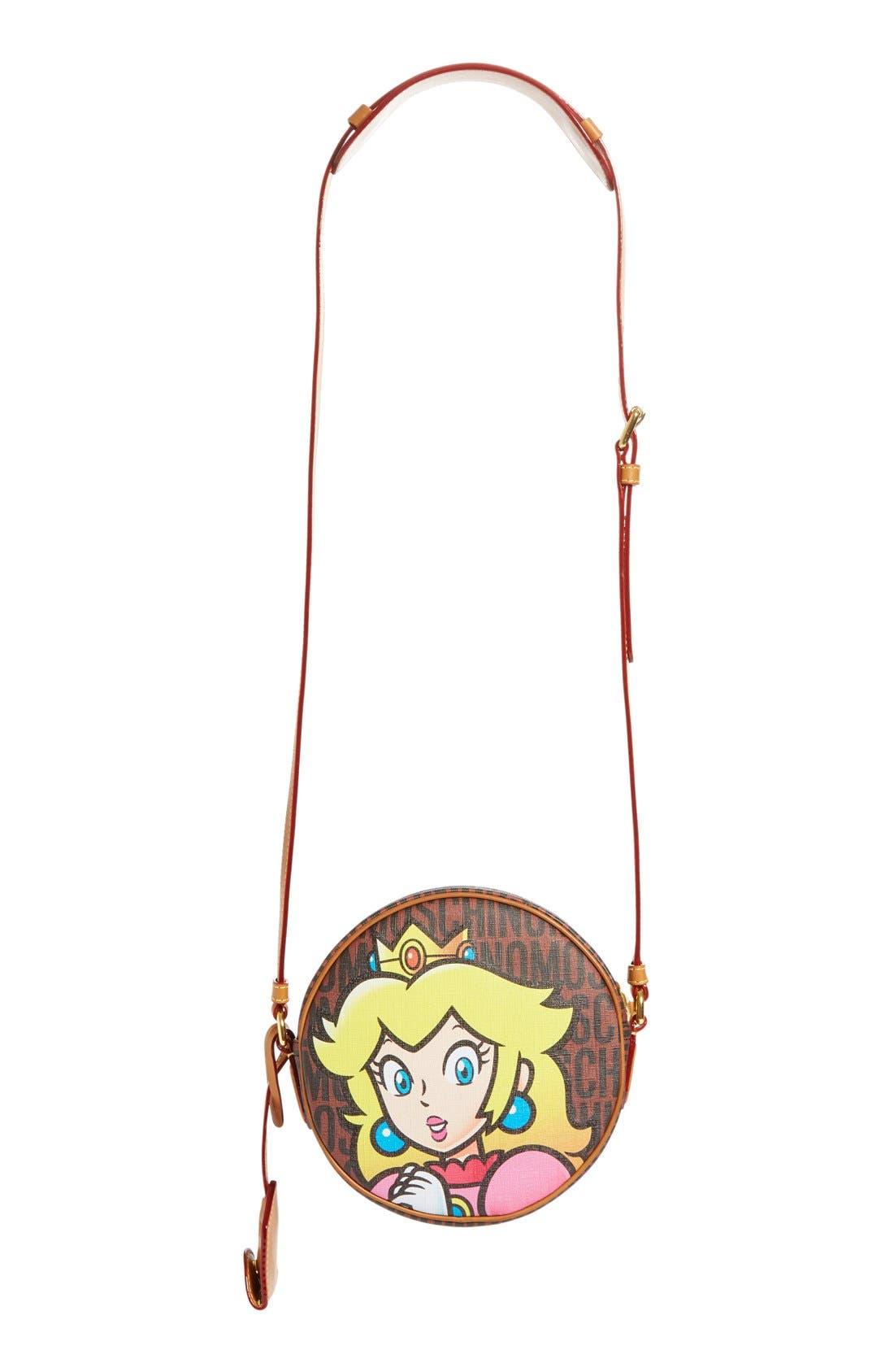 Alternate Image 3  - Moschino 'Nintendo Super Mario Bros.®' Canteen Crossbody Bag
