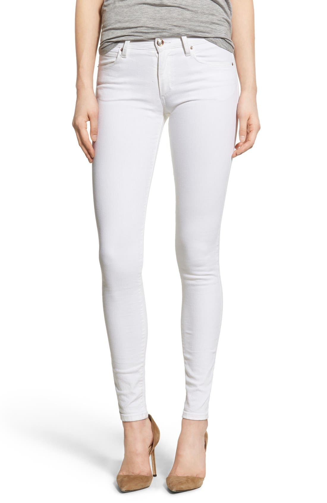 Main Image - Joe's 'Spotless - Icon' Ankle Skinny Jeans (Marlie)