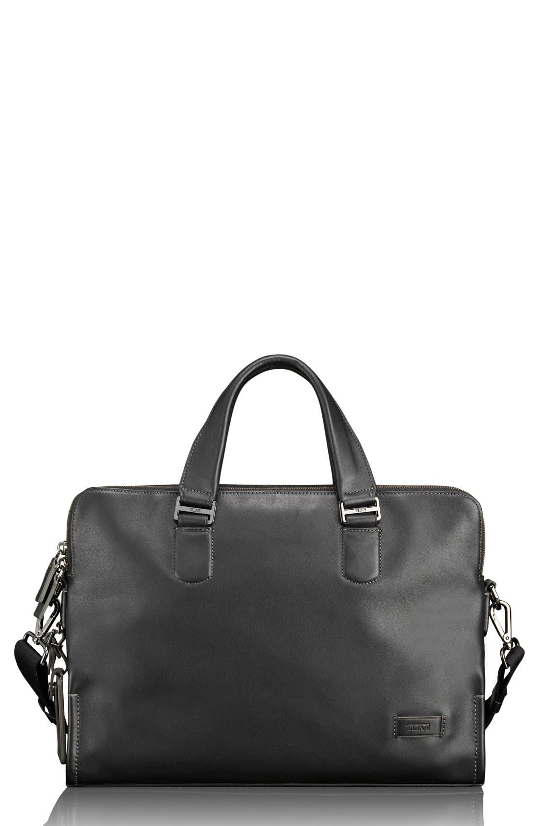 TUMI Harrison - Seneca Slim Leather Briefcase