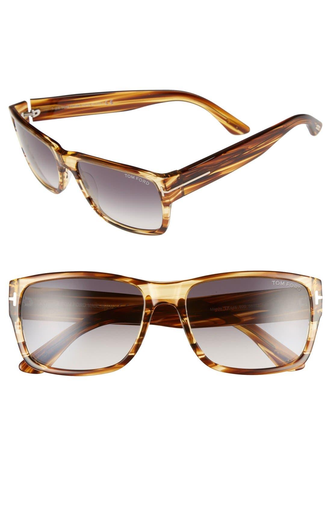 Tom Ford 'Mason' 58mm Sunglasses