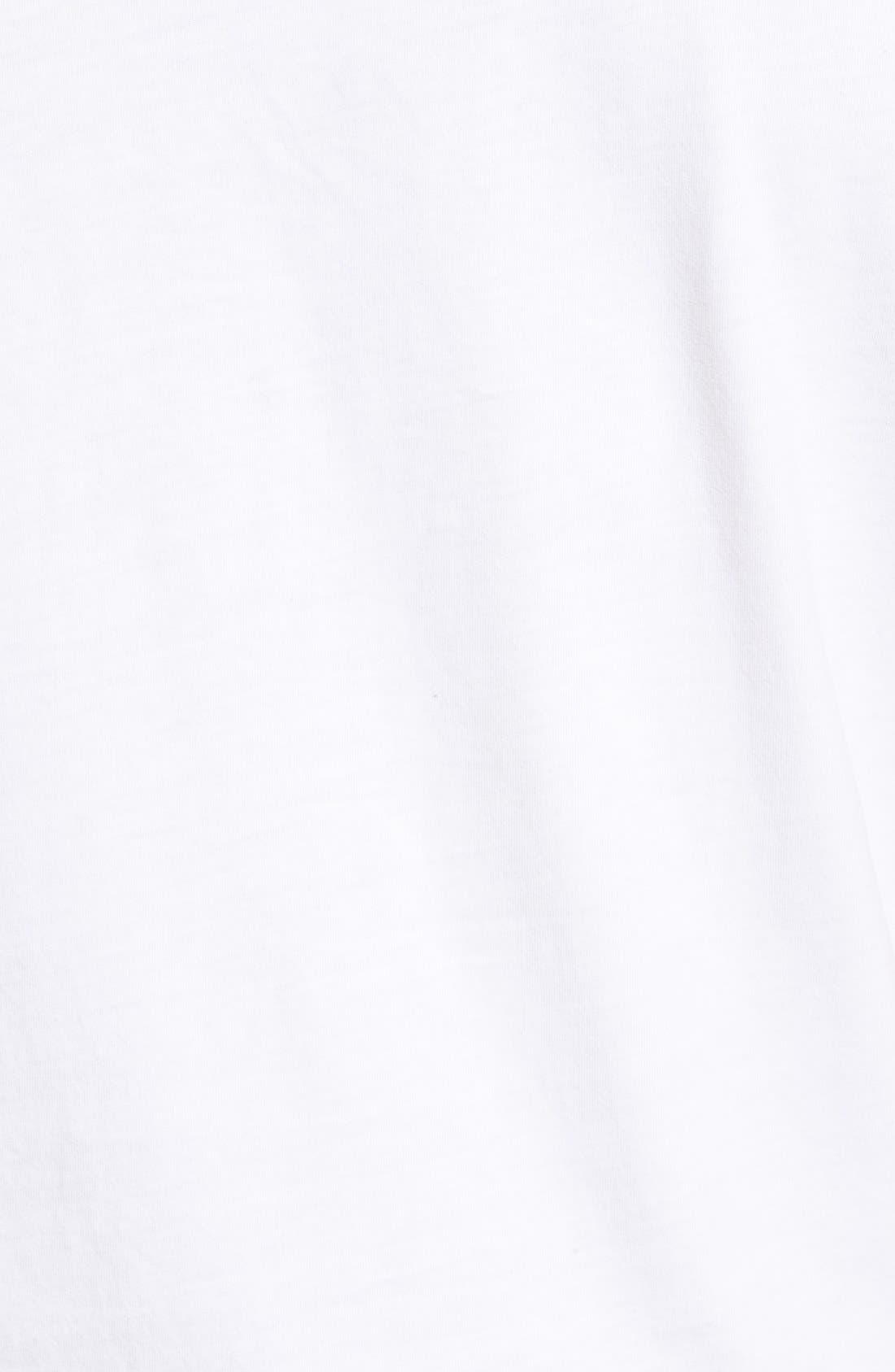 'Cliff' Crewneck T-Shirt,                             Alternate thumbnail 5, color,                             True White