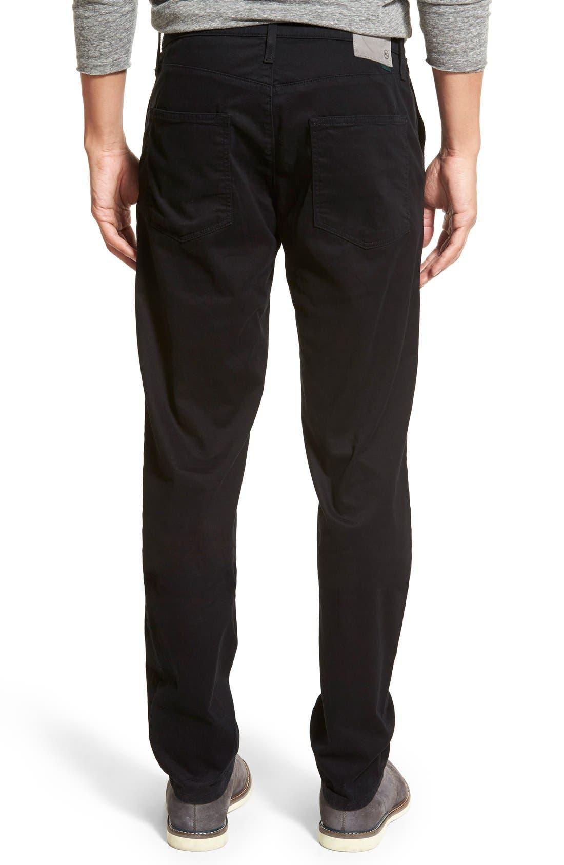 Alternate Image 2  - AG Green Label 'Graduate' Slim Straight Leg Golf Pants