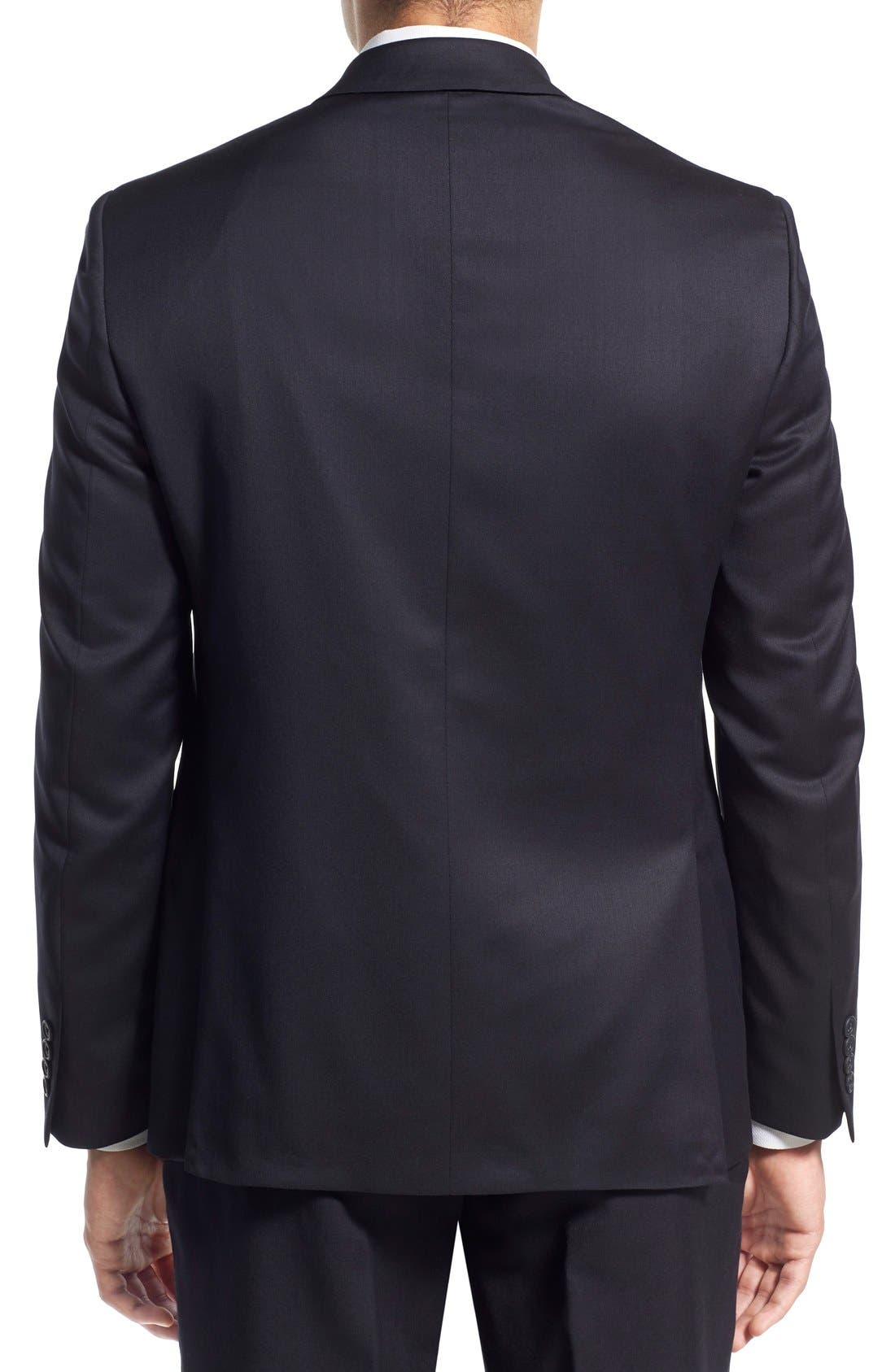 Alternate Image 2  - Nordstrom Men's Shop Trim Fit Wool Blazer