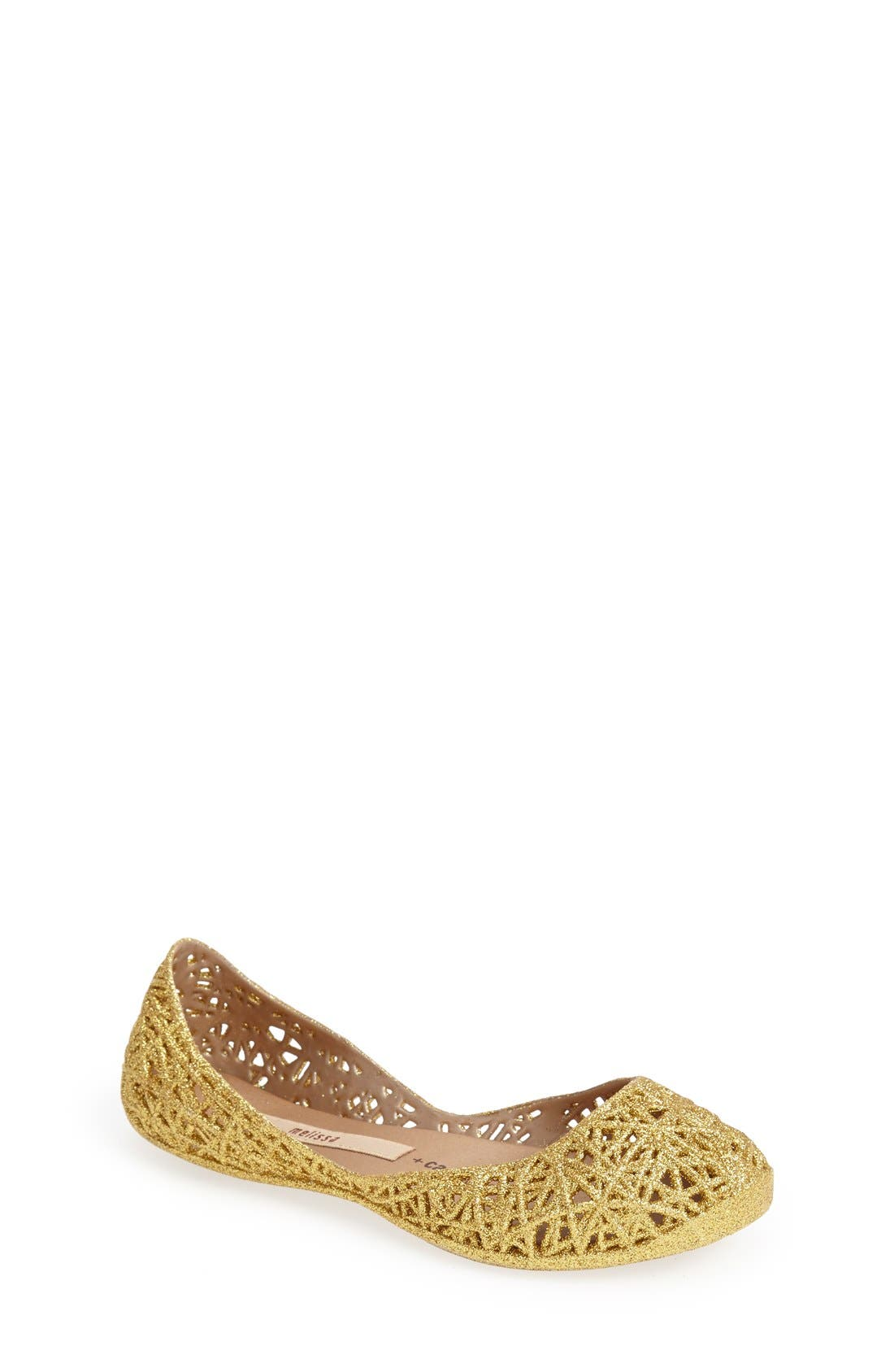 Mel by Melissa 'Campana Zig Zag' Flat (Toddler & Little Kid)