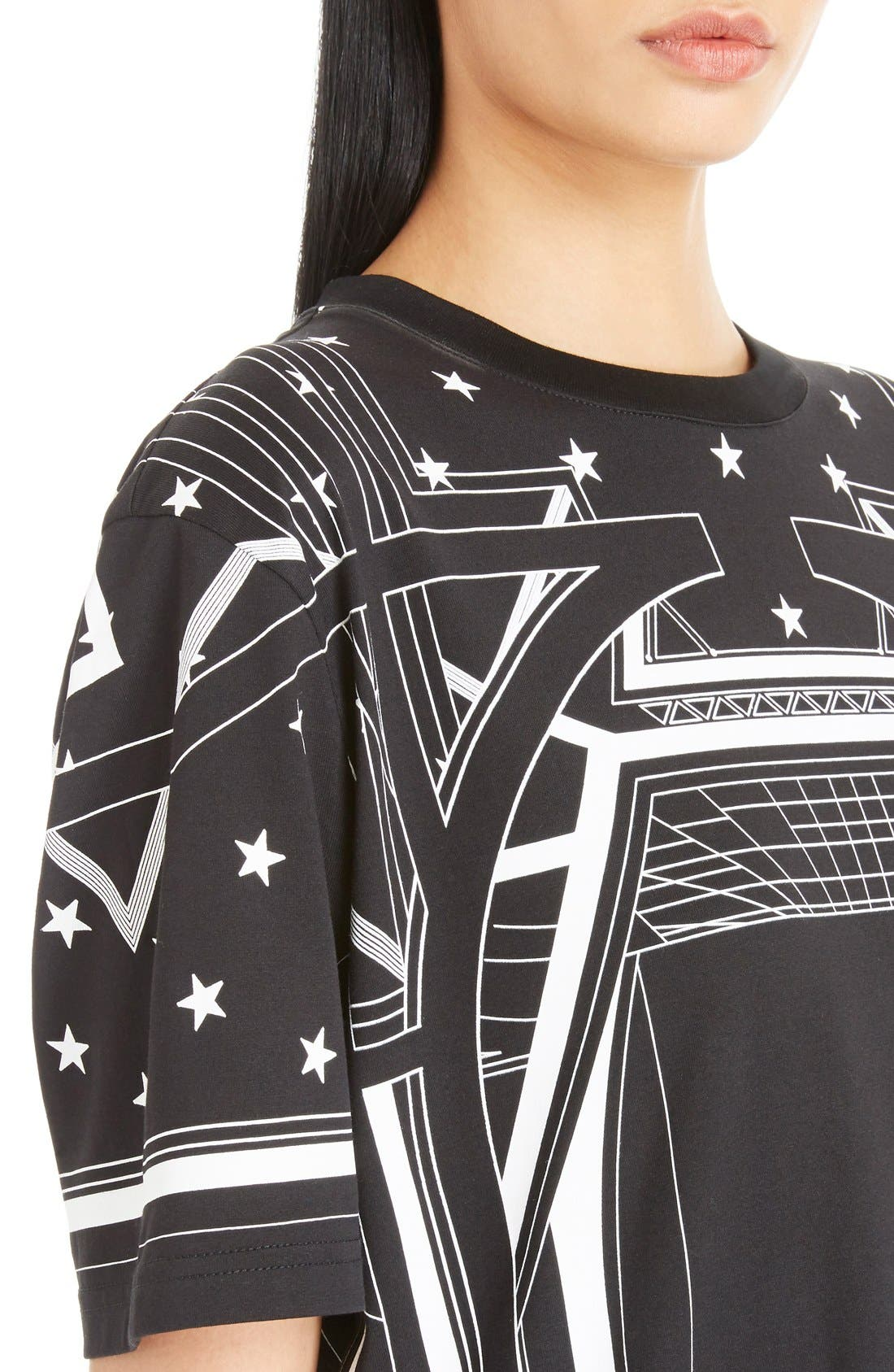 Alternate Image 5  - Givenchy Star & Abstract Print Cotton Tee