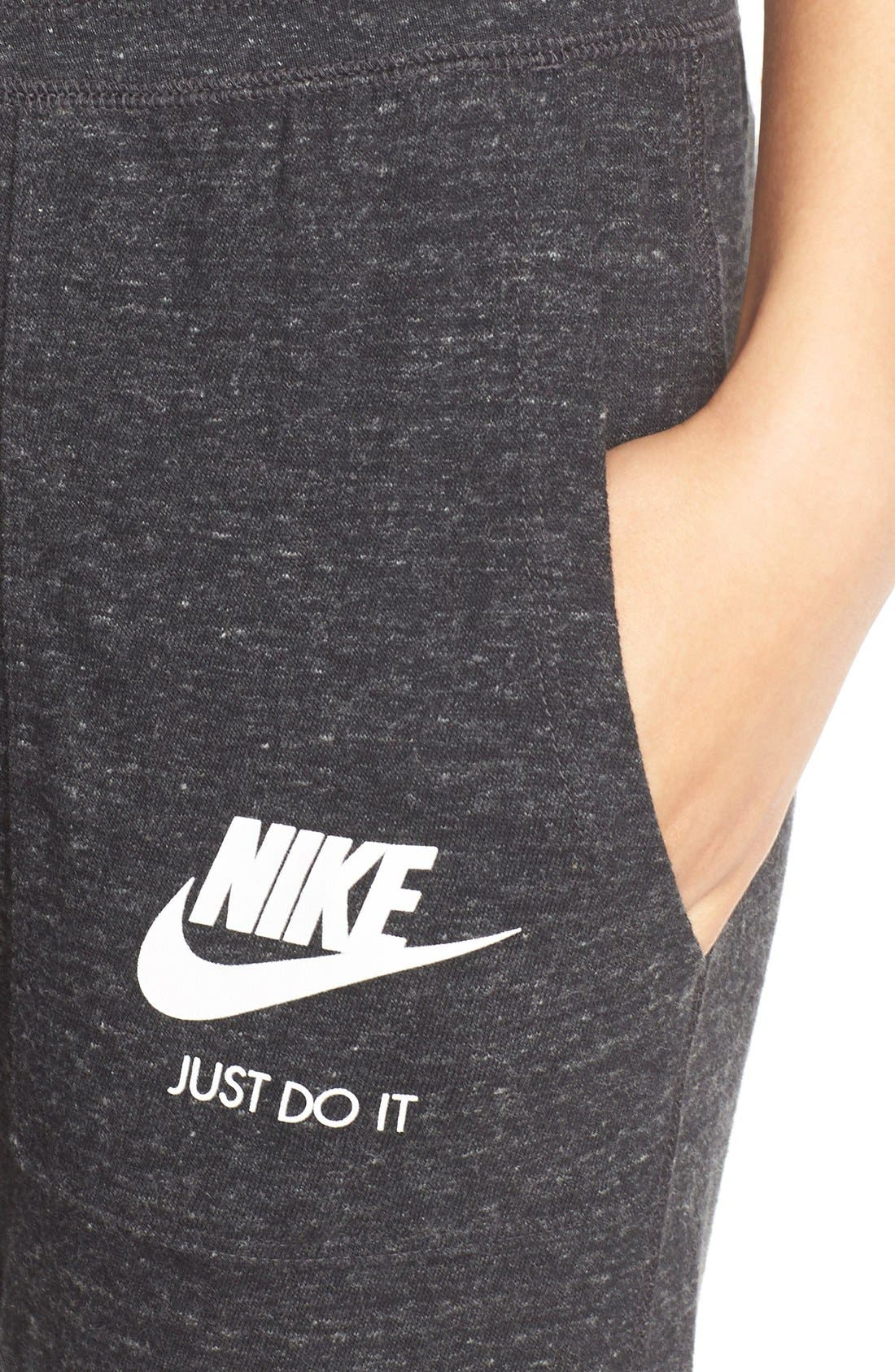 Alternate Image 4  - Nike 'Gym Vintage' Capris