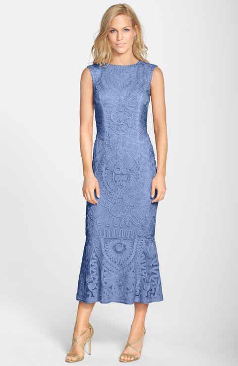 JS Collections Soutache Mesh Dress Regular Petite