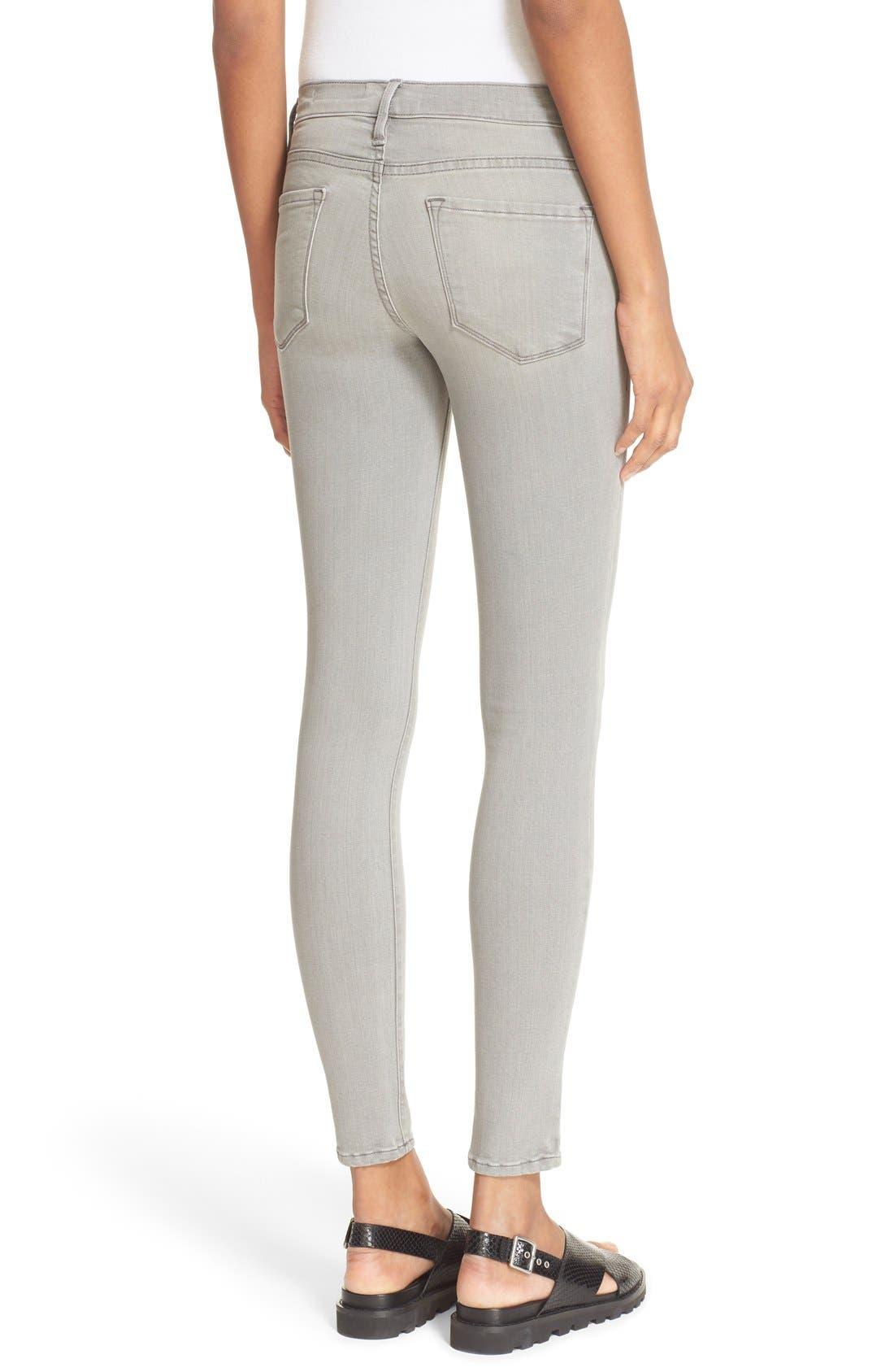 Alternate Image 3  - FRAME 'Le Skinny de Jeanne' Jeans (Wilton)