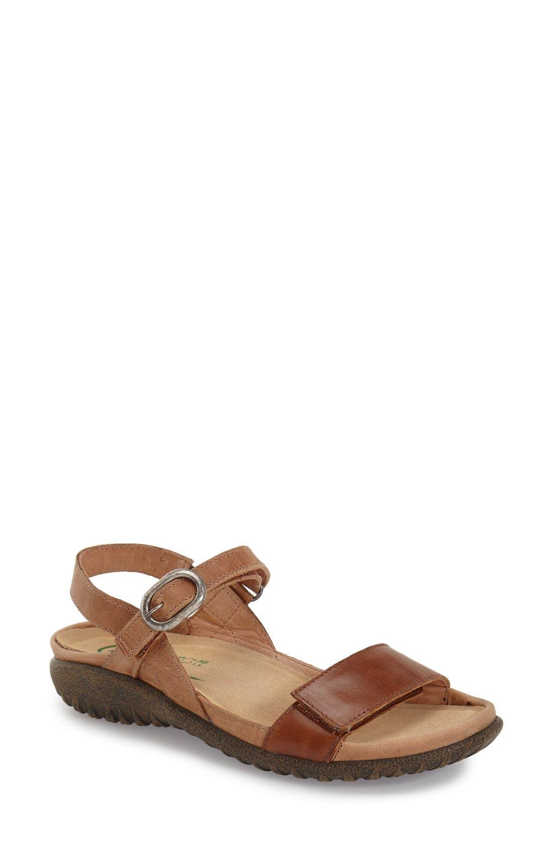 Naot 'Mozota' Quarter Strap Sandal (Women)