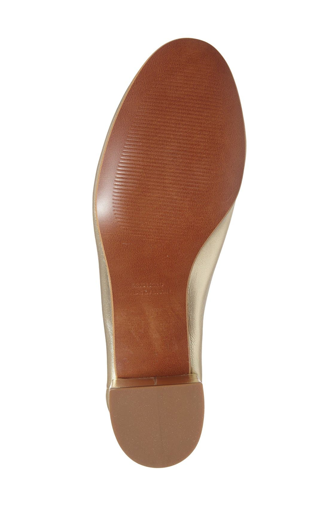 Alternate Image 4  - Topshop 'Juno' Ballet Shoe (Women)