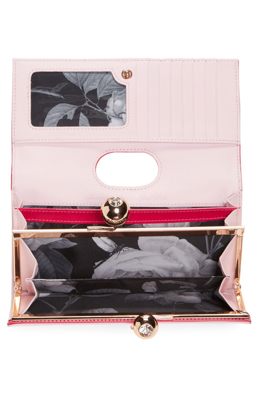 Alternate Image 4  - Ted Baker London 'Odd Bobble' Patent Leather Matinee Wallet