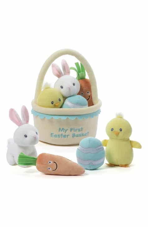 Baby Gund  My First Easter Basket  Plush Play Set 558862481d