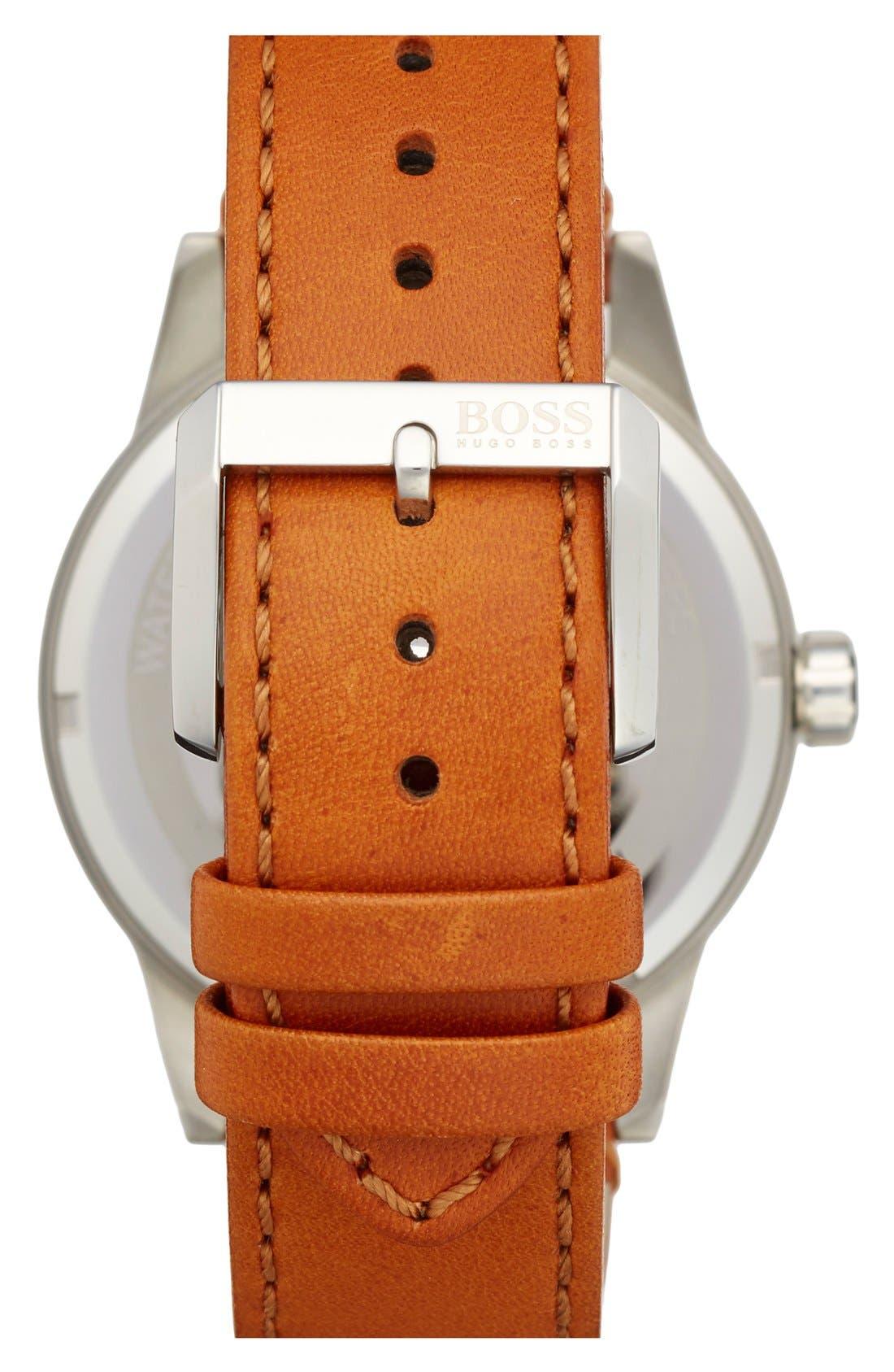 Alternate Image 2  - BOSS 'Pilot' Watch, 44mm