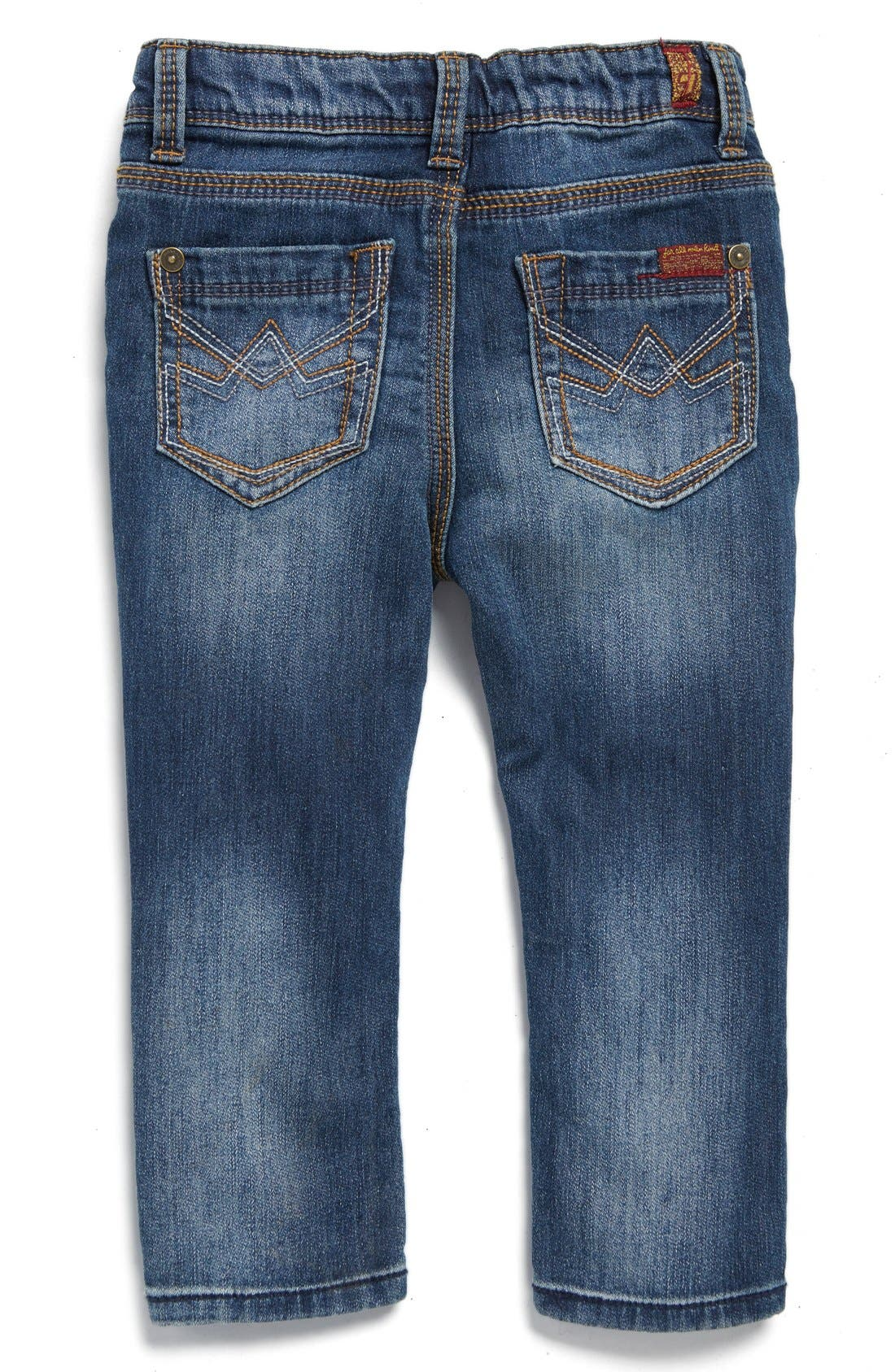 Alternate Image 2  - 7 For All Mankind® Slim Fit Jeans (Baby Boys)