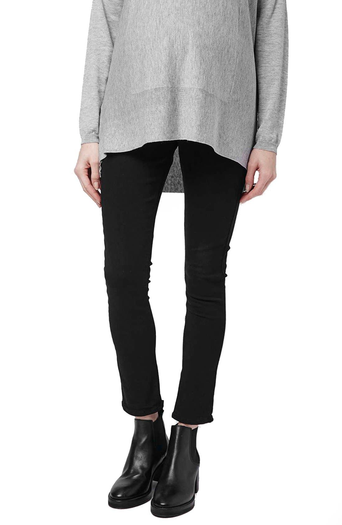 Topshop 'Jamie' Over-the-Bump Skinny Maternity Jeans