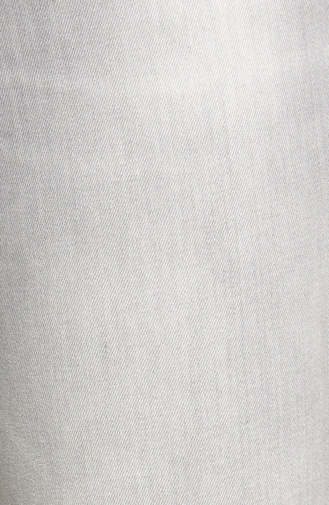 'Alissa' Stretch Skinny Jeans,                             Alternate thumbnail 5, color,                             Alissa Light Grey Tribeca