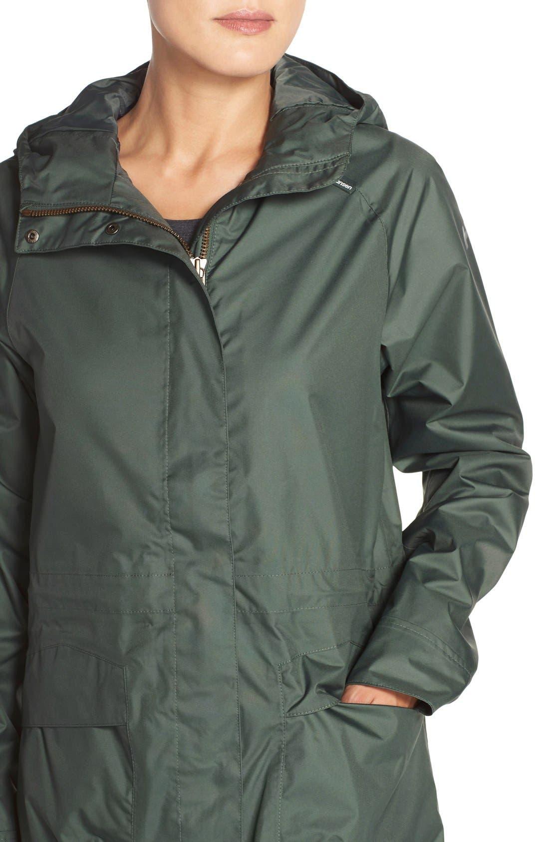 'Appleton' Waterproof Coat,                             Alternate thumbnail 4, color,                             Rock