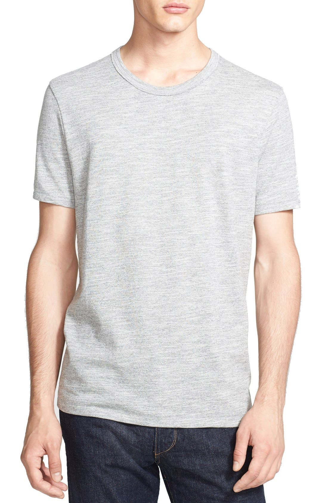 Standard Issue 'Moulinex' Crewneck T-Shirt,                         Main,                         color, Medium Grey