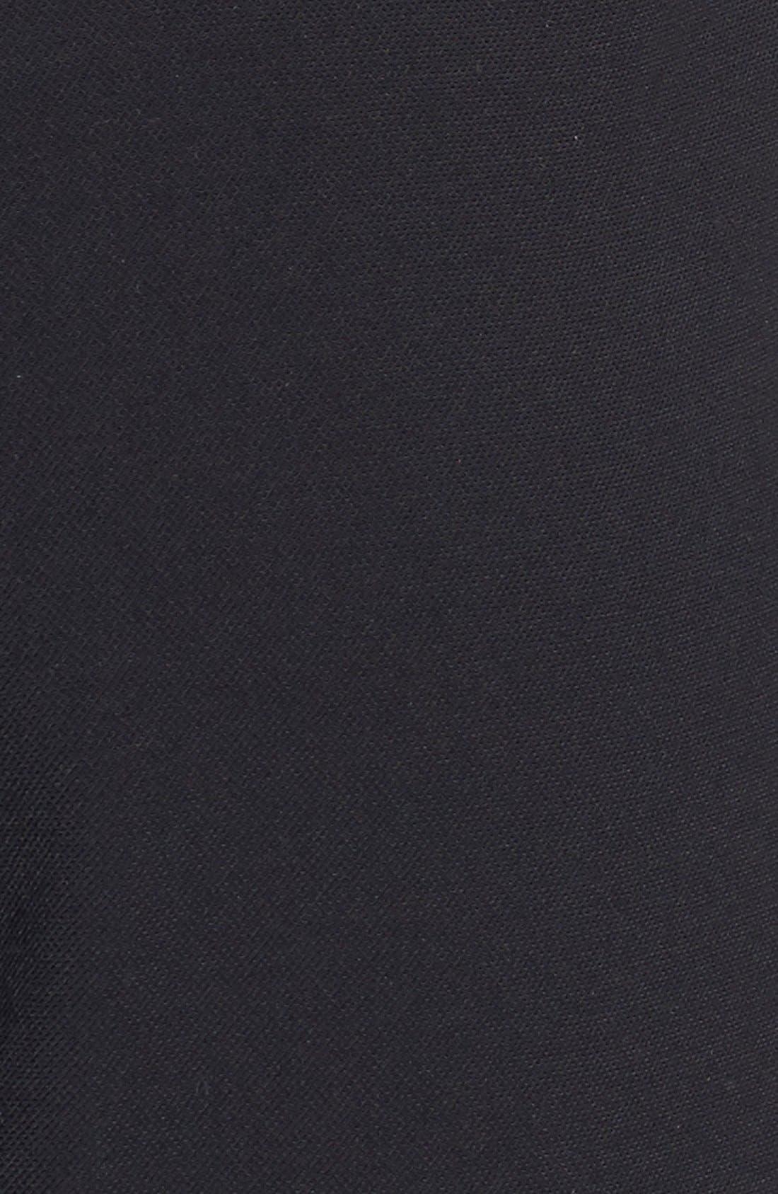 Alternate Image 6  - Trouvé High Waist Pleat Front Crop Pants