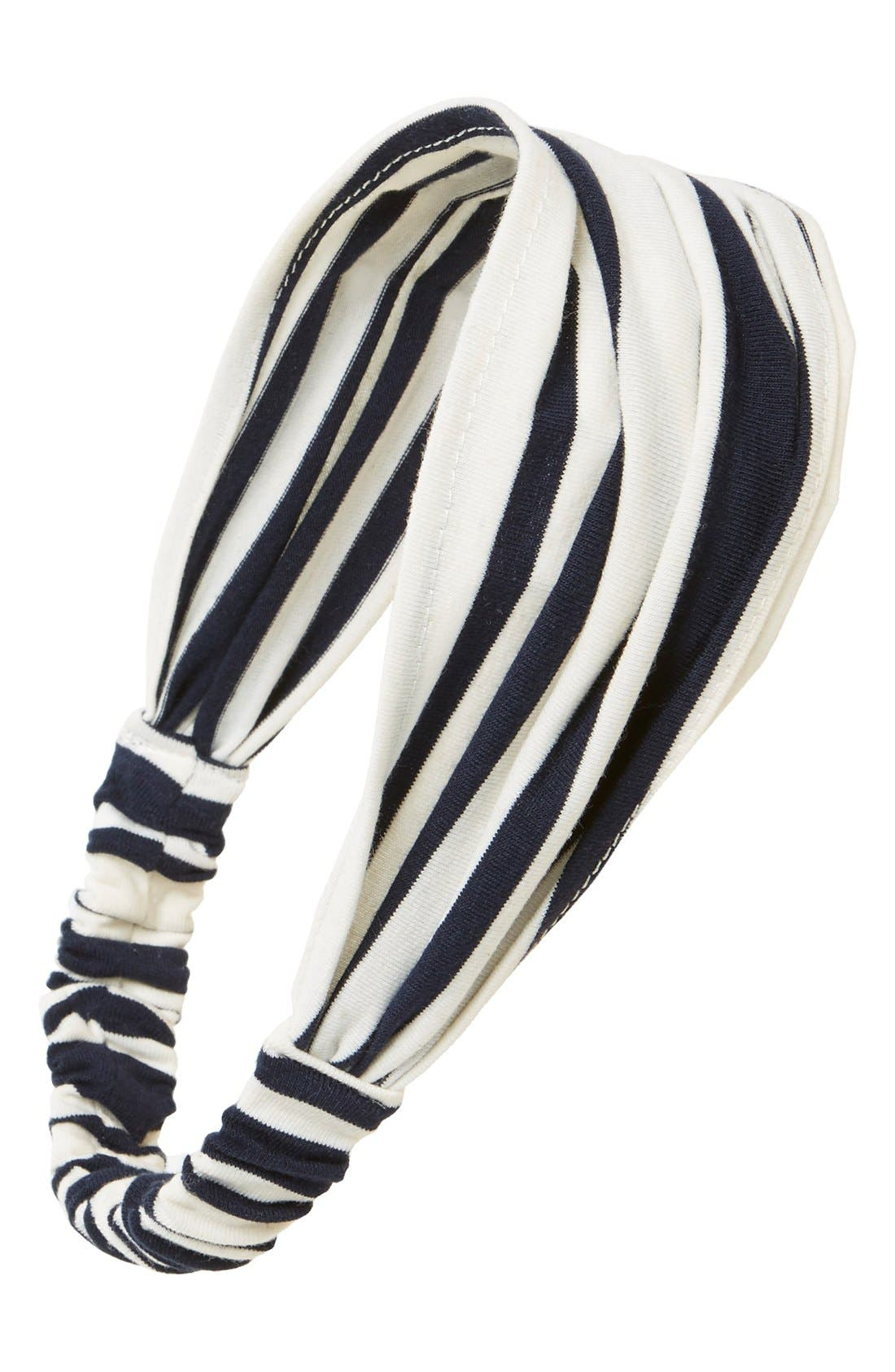 Alternate Image 1 Selected - Cara Stripe Head Wrap