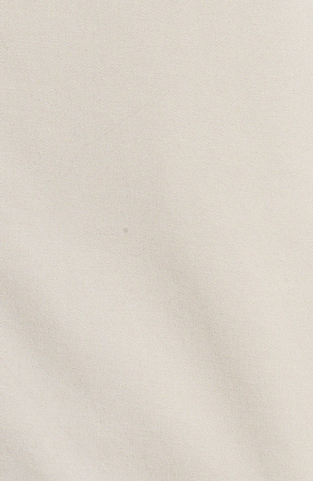 Trim Fit Stretch Cotton Blazer,                             Alternate thumbnail 5, color,                             Tan