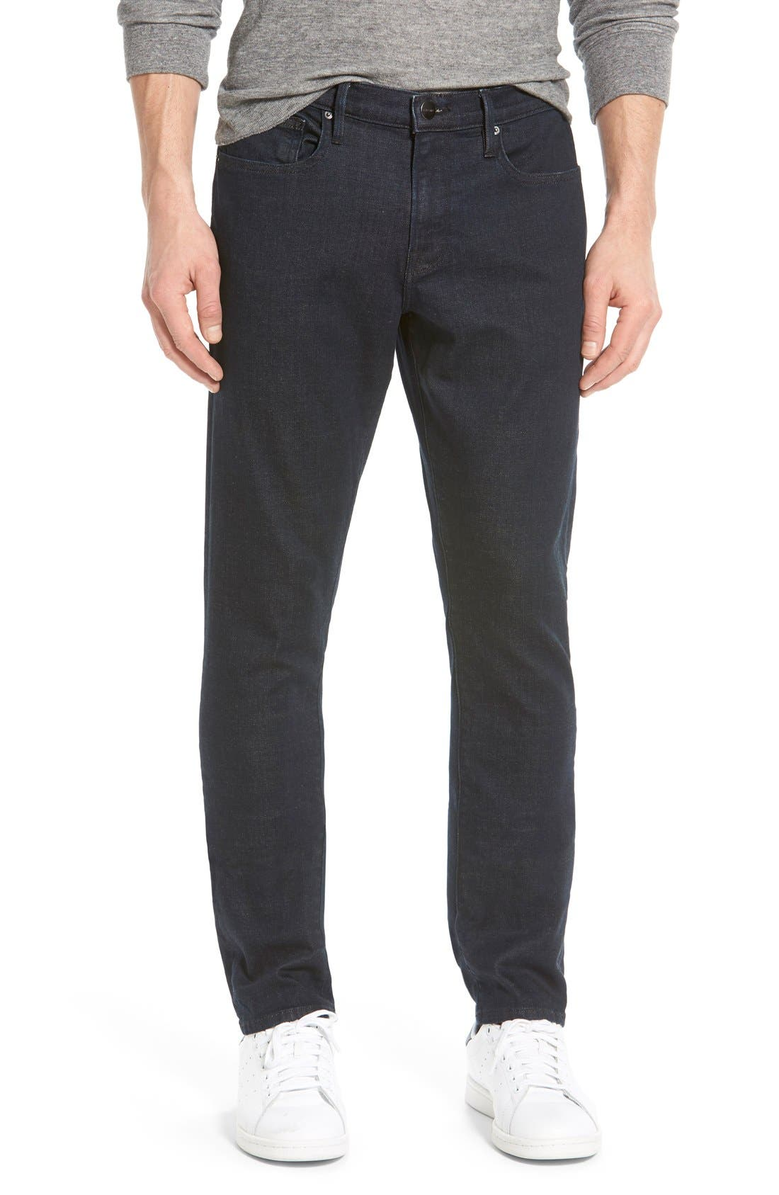 'L'Homme' Slim Fit Jeans,                         Main,                         color, Edison
