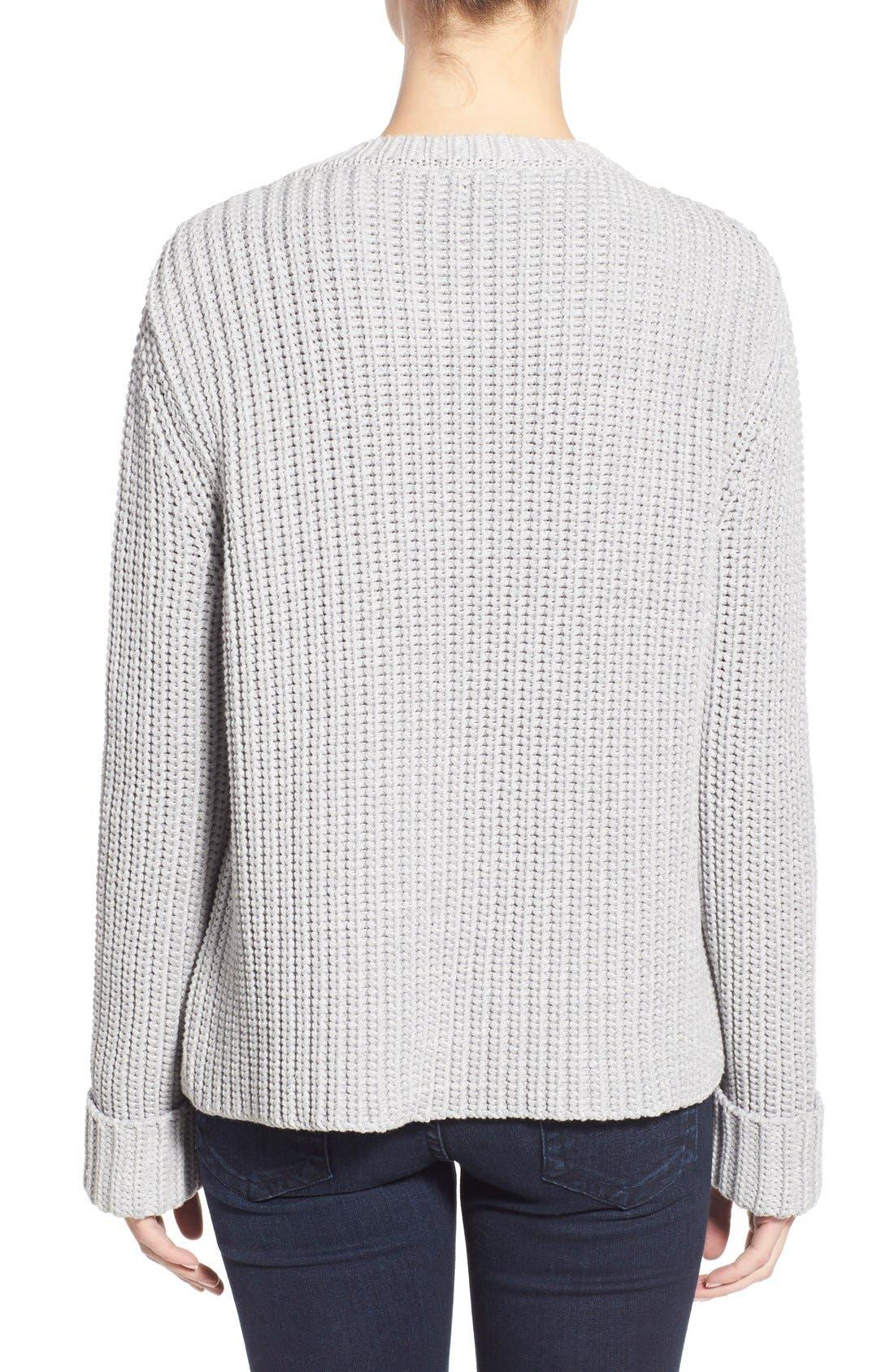 Alternate Image 2  - Barbour 'Clove Hitch' Crewneck Sweater