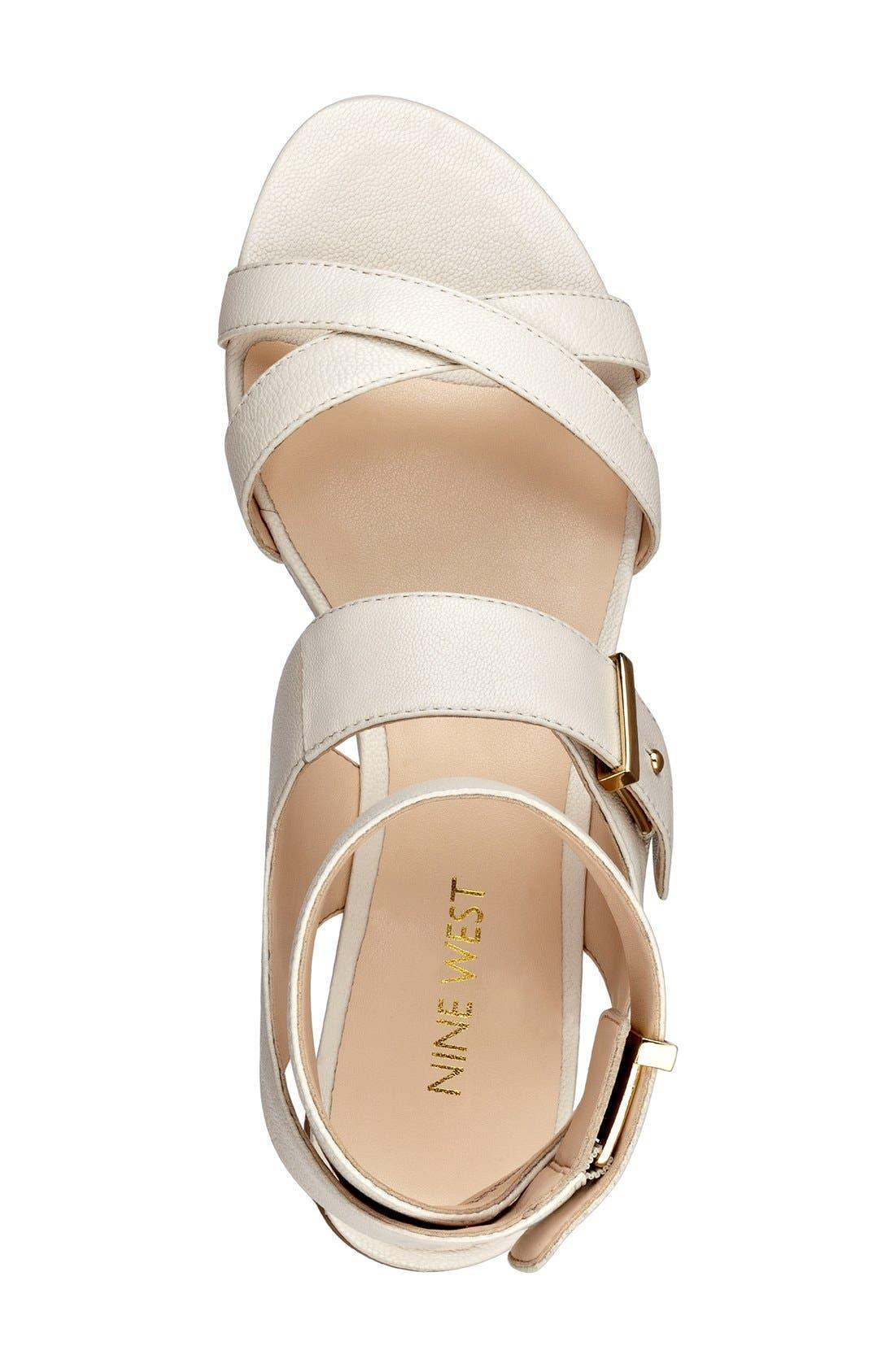 Alternate Image 3  - Nine West 'Darcelle' Flat Sandal (Women)